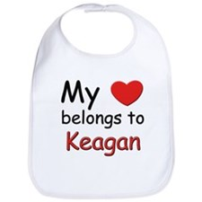 My heart belongs to keagan Bib