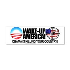 anti obama bumper sticker Car Magnet 10 x 3