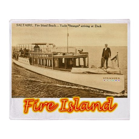 Fire Island Throw Blanket