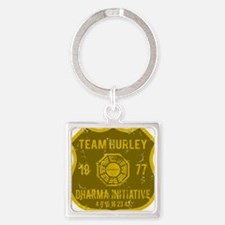 team hurley Square Keychain
