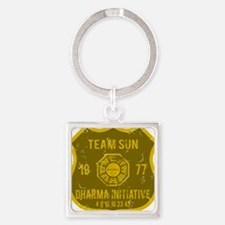 team sun Square Keychain