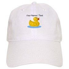 Custom Yellow Rubber Duck Baseball Baseball Cap