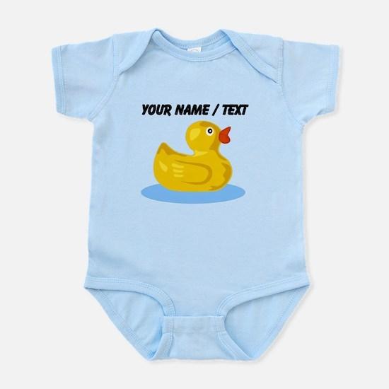 Custom Yellow Rubber Duck Body Suit