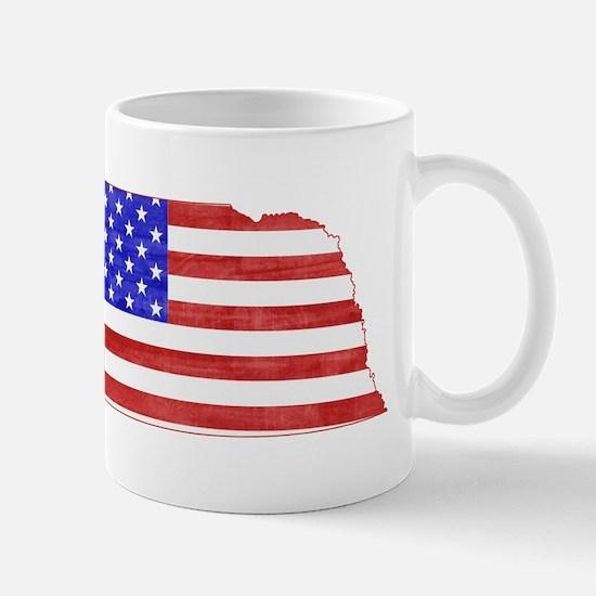 Nebraska Flag Mug