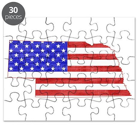 Nebraska Flag Puzzle