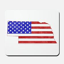 Nebraska Flag Mousepad