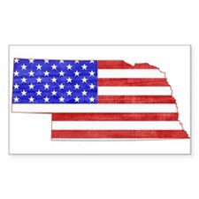 Nebraska Flag Decal