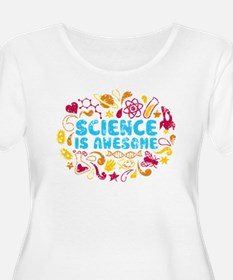 3-science Plus Size T-Shirt