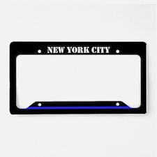 New York City Police License Plate Holder