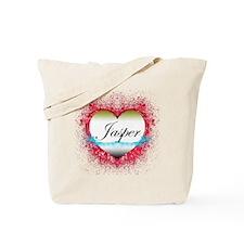 2-jasperheart Tote Bag