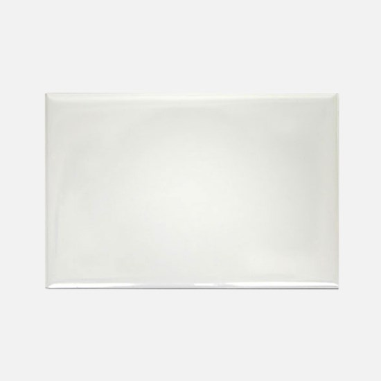 BCR-white Rectangle Magnet