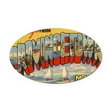 Provincetown Oval Car Magnet