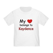 My heart belongs to kaydence T