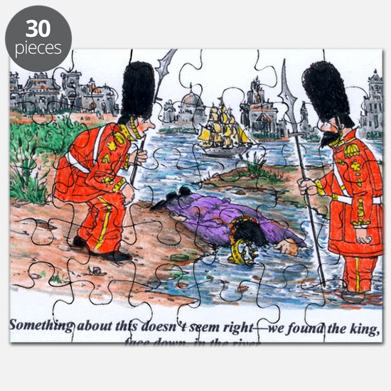 king face down in the river Puzzle