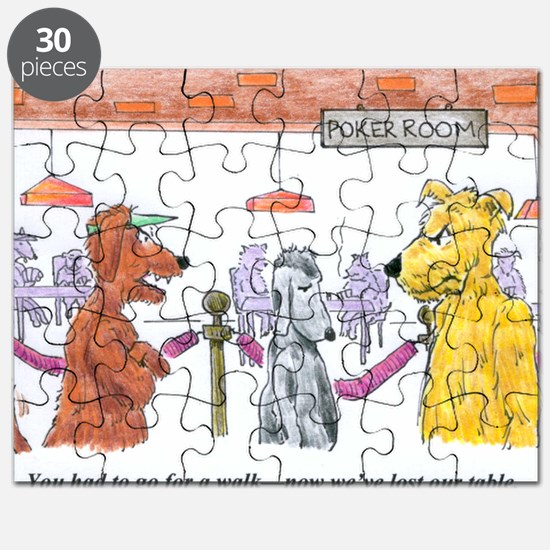 Poker Playing Dogs Puzzle