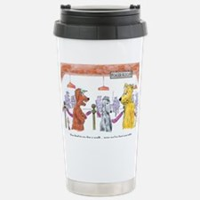 Poker Playing Dogs Stainless Steel Travel Mug