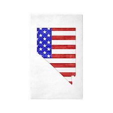 Nevada Flag 3'x5' Area Rug