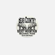 bearcountry_rockymountainnp_colorado Mini Button
