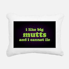 bigmutts35x55 Rectangular Canvas Pillow