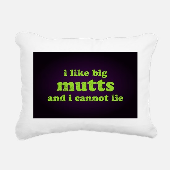 bigmutts35x55 Rectangular Canvas Pillow
