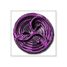"""logo vortex Square Sticker 3"""" x 3"""""""