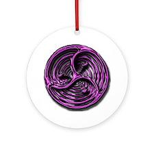 logo vortex Round Ornament