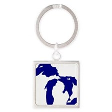 great_lakes Square Keychain