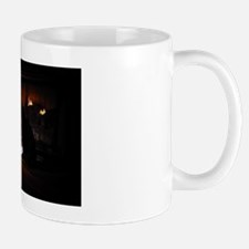 Cat Christmas Card Mug