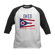 Ohio - Birthplace of Aviation - (F+B) Baseball Jer
