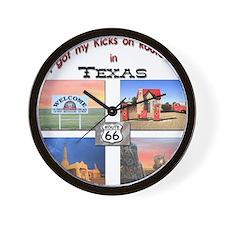 tshirttemplatexa Wall Clock