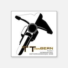 """TT von bern Square Sticker 3"""" x 3"""""""