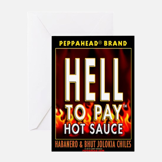 HELL TO PAY-TS Greeting Card