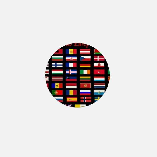 European flags_mousepad Mini Button