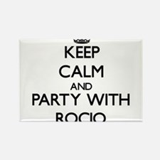 Keep Calm and Party with Rocio Magnets
