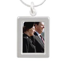 ThatRR1 Silver Portrait Necklace