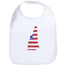 New Hampshire Flag Bib