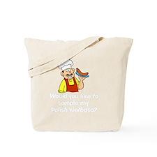 Sample My Polish Kielbasa Tote Bag