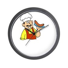 Sample My Polish Kielbasa Wall Clock