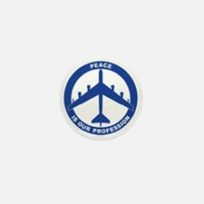 Peace Is Our Profession - B-52H Blue Mini Button