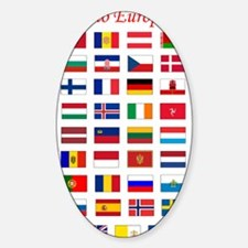 European Flags_light tee Decal