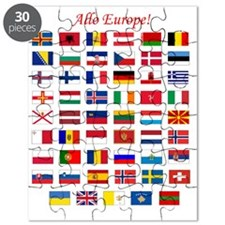 European Flags_dark tee Puzzle