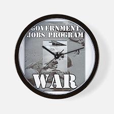 2-Government Jobs Program Wall Clock