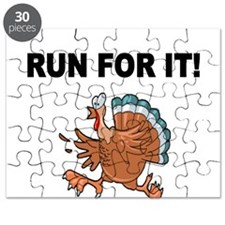 RUN FOR IT!-WITH TURKEY Puzzle