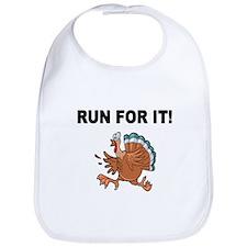 RUN FOR IT!-WITH TURKEY Bib