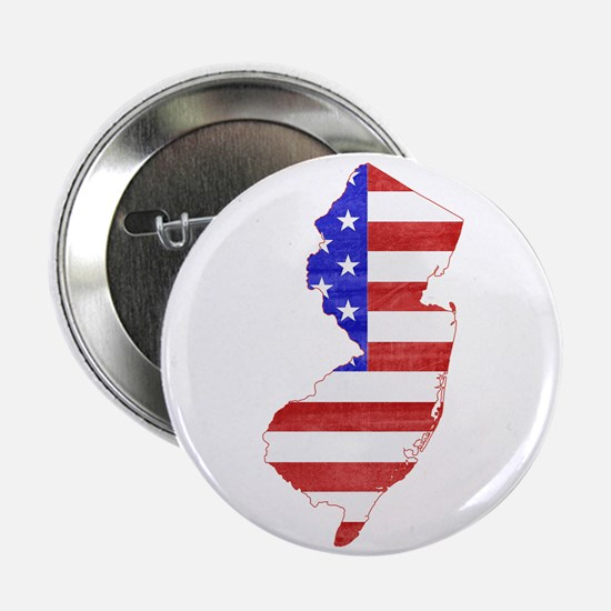 "New Jersey Flag 2.25"" Button"