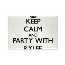 Keep Calm and Party with Rylee Magnets