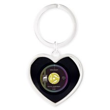 Drive Shaft 45 RPM Heart Keychain