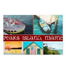 peaksCOLLAGE3 Postcards (Package of 8)