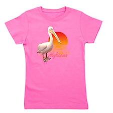 mykonos_pelican_t_shirt Girl's Tee