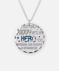HesNotOnlyMyDaddyHeroToo Necklace